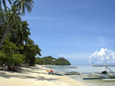 Beach at Sipalay Easy Diving and Beach Resort